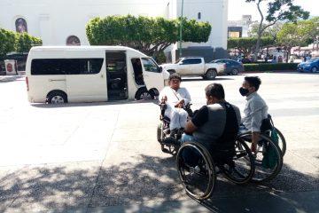 Personas con discapacidad piden ser tomados en cuenta en plan emergente de transporte