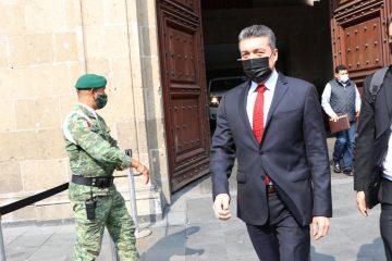 Rutilio Escandón agradece al presidente AMLO por permanecer atento a las familias damnificadas