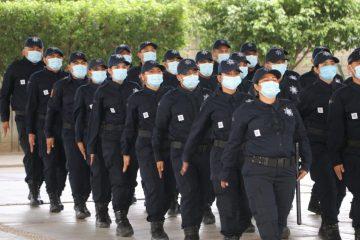 Las policías municipales son la base de la seguridad de Chiapas: Llaven Abarca