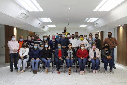 Militantes del «tricolor» y del «Sol Azteca» se reúnen en Tuxtla