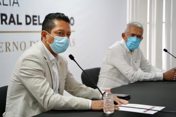 Presenta Llaven Abarca al nuevo fiscal general del Estado