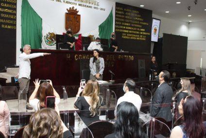 Nombra Congreso a Olaf Gómez Hernández Fiscal General del Estado