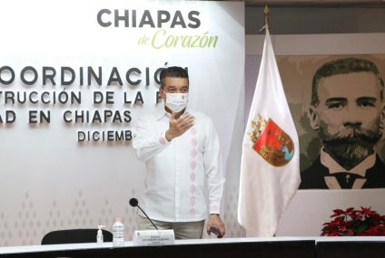 Rutilio Escandón pide a habitantes de Tuxtla Gutiérrez mantener prevención ante COVID-19