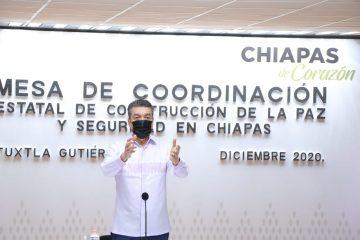 En Chiapas, uso de cubrebocas es voluntario; no habrá represión: Rutilio Escandón