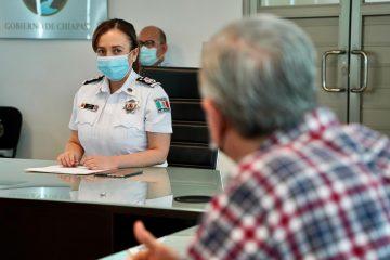 Coordina SSyPC estrategia para prevención del delito en la Torre Chiapas