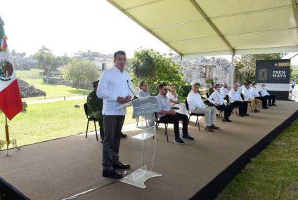 Destaca Rutilio Escandón unidad entre estados del Sur Sureste para el impulso del Tren Maya