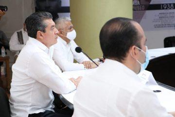 Rutilio Escandón participa en la XLVI Sesión Ordinaria del Consejo Nacional de Seguridad Pública