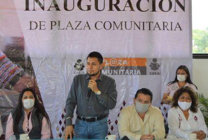 Icheja inaugura Plaza Comunitaria en El Parral