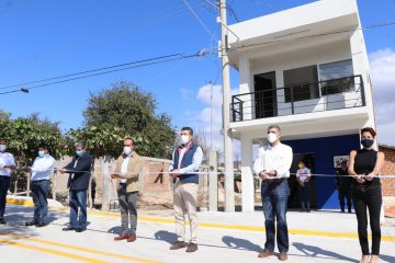 Inaugura Rutilio Escandón pavimentación del Bulevard Suchiapa-Pacú