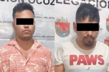 Detenidos por narcomenudeo en Ocozocoautla