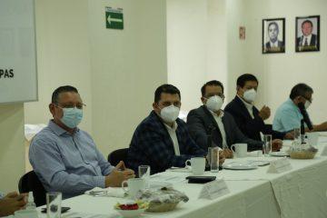 Reunión histórica entre Canaco Tuxtla y Fiscalía General de la República