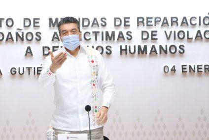 Rutilio Escandón reitera llamado a no confiarse y mantener responsabilidad ante COVID-19