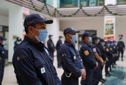 Reconoce Zepeda Soto visión del gobernador para fortalecer a las y los policías municipales