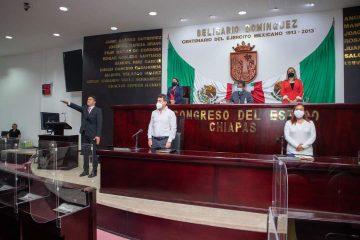Avala Congreso reemplazo del diputado Juan Salvado Camacho