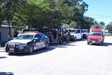 Un detenido y 13 migrantes resctados en Chiapas