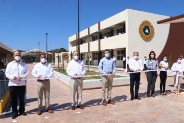 Inauguran 2ª Etapa de la Escuela Nacional de Protección Civil Campus Chiapas