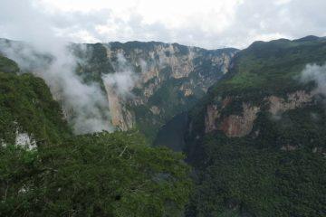 Autoriza Conanp visitas en miradores del Cañón del Sumidero
