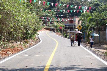 Gobierno de Chiapas beneficia a habitantes de Tapachula con pavimentación de calles