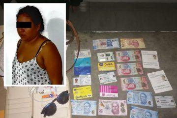 Detenida por robo en pleno centro de Tuxtla Gutiérrez