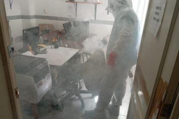 Realiza ICHEJA sanitización de sus instalaciones para prevenir contagio de COVID-19