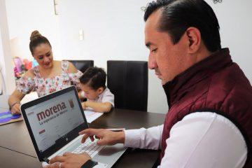 Oficializa precandidatura Christian Pérez para Catazajá