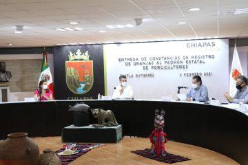 Respalda Gobierno de Chiapas producción de carne de cerdo sana y de calidad