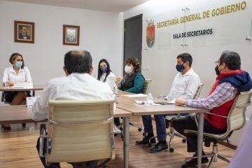 SGG coadyuvará con órganos electorales para garantizar proceso electoral tranquilo