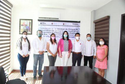 Icheja y Seigen firman convenio para instalación de la Unidad de Enlace de Igualdad de Género