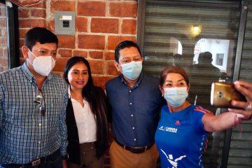 Caminando juntos lograremos el desarrollo de Chiapas: Llaven Abarca