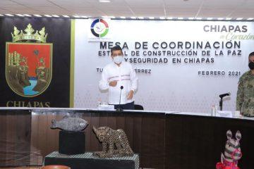 Chiapas, segundo lugar nacional con menor tasa de delitos de alto impacto y de incidencia general