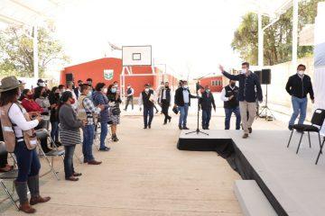 Gobierno de Chiapas trabaja junto a la Federación para garantizar espacios educativos dignos y seguros