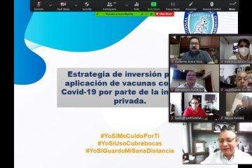 Empresarios de Canaco, interesados en invertir para compra de vacunas
