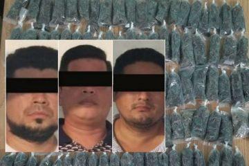 Narcomenudistas detenidos en Tapachula