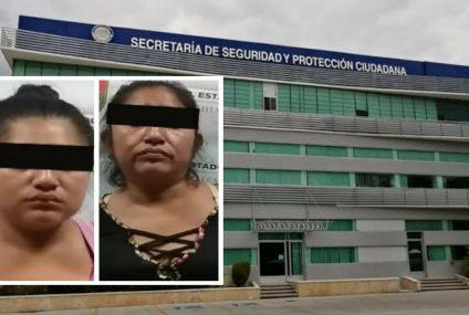 Detenidas por robo a comercio en Tuxtla Gutiérrez