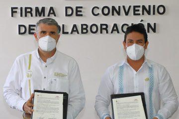 CMIC Chiapas y SOP firman convenio de colaboración