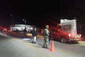 Coordina SSyPC operativo interinstitucional en Las Rosas