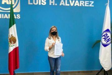 Haydeé Ocampo se registra en la alianza Va por Tuxtla