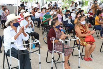 Inician Programas 2021: ayudas visuales y técnicas, jornada quirúrgica y recepción de donaciones en Chiapas