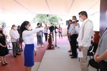 Rinde protesta la nueva presidenta del Comité Coordinador del Sistema Anticorrupción del Estado