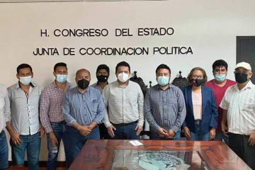 Congreso coordina esfuerzos para garantizar paz y gobernabilidad: Molina Morales