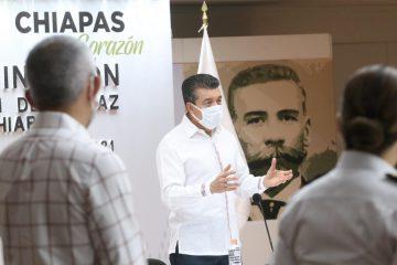 Este martes inicia Jornada de Vacunación anti COVID-19 en San Cristóbal de Las Casas y Palenque