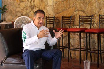 Se reúne Jorge Martínez con líderes ejidales