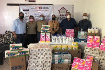 Clínicas CENTRA reciben donación del Club Rotario Poniente