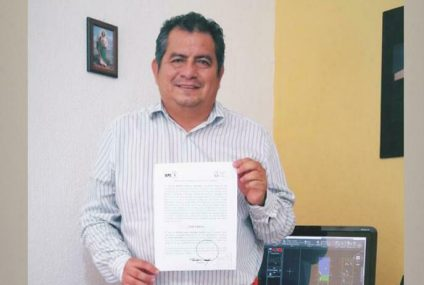Confirma IEPC a Ricado de Jesús como candidato independiente para alcaldía tuxtleca