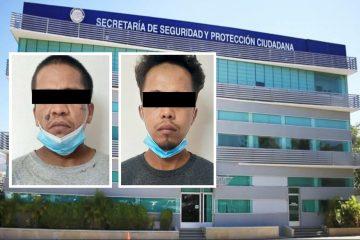 Detenidos por narcomenudeo en Tuxtla Gutiérrez
