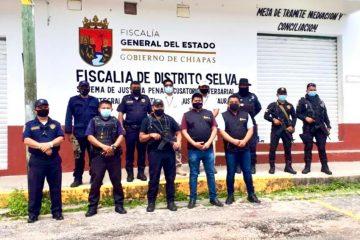 "Coordina FGE operativo ""Semana Santa Segura"", en Palenque"