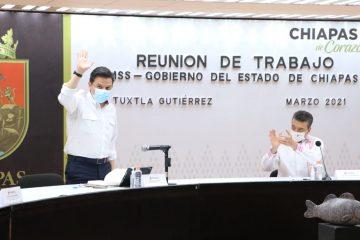 Anuncian crecimiento del IMSS en Chiapas