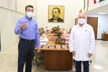 Gobierno de Chiapas avanza en pago de añeja deuda con el personal de salud