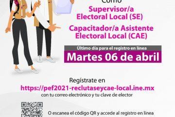 6 de abril, último día para el registro en línea para participar en la Convocatoria para SEL y CAEL