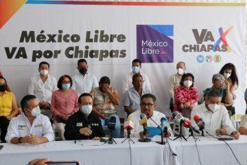 México Libre se une a la coalición Va por Chiapas